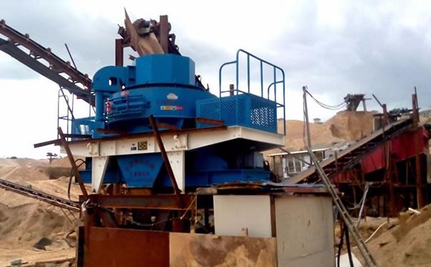 时产200吨的he卵石制砂机湖南娄底